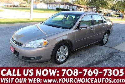 2007 Chevrolet Impala LTZ for sale VIN: 2G1WU58R179377069
