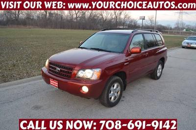 2002 Toyota Highlander Limited for sale VIN: JTEHF21A920044436