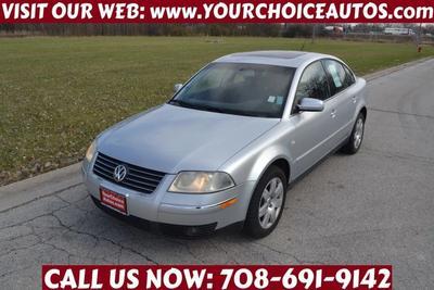 2003 Volkswagen Passat GLX V6 for sale VIN: WVWRH63B33P181395