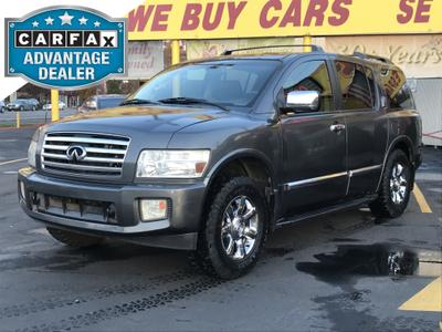 2005 INFINITI QX56  for sale VIN: 5N3AA08C35N812731