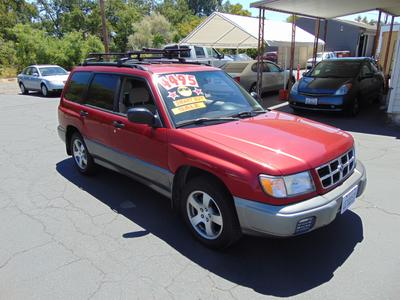 1999 Subaru Forester S for sale VIN: JF1SF6556XH741592