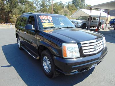 2002 Cadillac Escalade  for sale VIN: 1GYEK63N02R108167