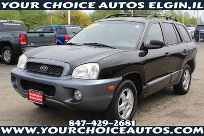 2003 Hyundai Santa Fe GLS for sale VIN: KM8SC13D63U447056
