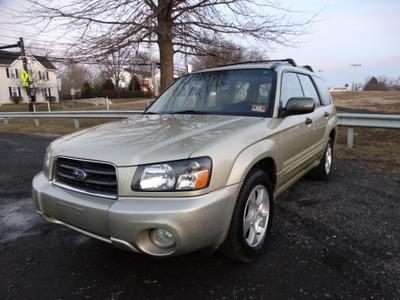 2003 Subaru Forester 2.5 XS for sale VIN: JF1SG656X3H712063