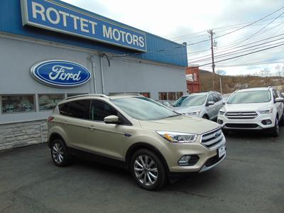2017 Ford Escape Titanium for sale VIN: 1FMCU9J9XHUA98523