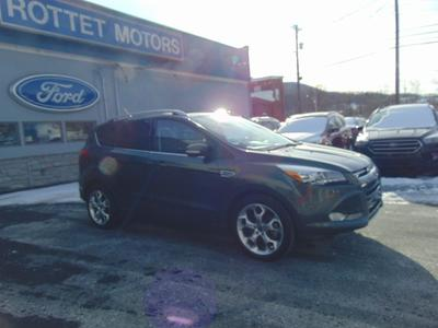 2015 Ford Escape Titanium for sale VIN: 1FMCU9J95FUC57025