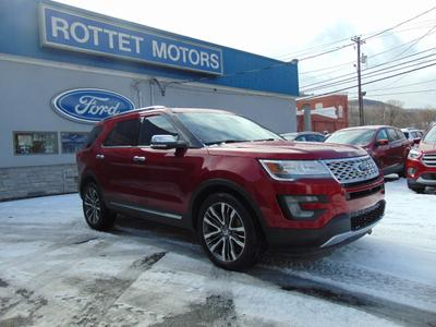 2016 Ford Explorer Platinum for sale VIN: 1FM5K8HT7GGC53472