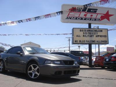 2003 Ford Mustang SVT Cobra for sale VIN: 1FAFP48Y03F313712