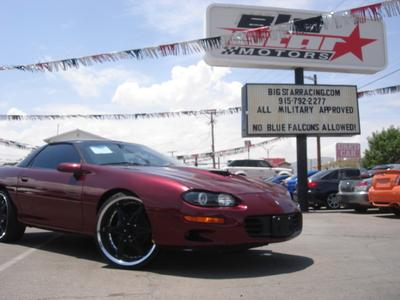 2002 Chevrolet Camaro SS for sale VIN: 2G1FP22GX22159842