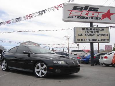 2006 Pontiac GTO  for sale VIN: 6G2VX12U36L517749