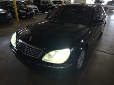 2002 Mercedes-Benz S-Class S500 for sale VIN: WDBNG75J82A235771