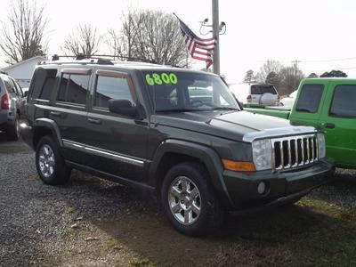 2007 Jeep Commander Limited for sale VIN: 1J8HH58247C657108