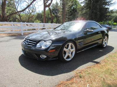 2007 Mercedes-Benz SL-Class SL55 AMG for sale VIN: WDBSK72F37F128946