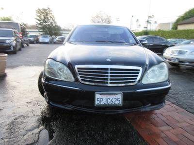 2006 Mercedes-Benz S-Class S500 for sale VIN: WDBNG75J76A471205