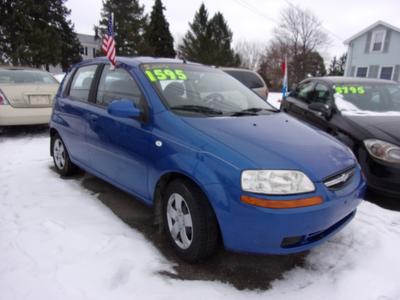 2006 Chevrolet Aveo  for sale VIN: KL1TD66696B556232