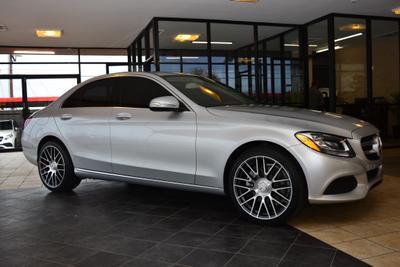 2015 Mercedes-Benz C-Class C 300 4MATIC Sport for sale VIN: 55SWF4KB9FU039743