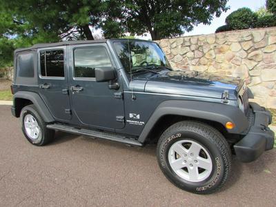 2008 Jeep Wrangler Unlimited X for sale VIN: 1J4GA391X8L608962