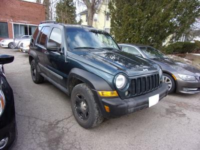 2005 Jeep Liberty Sport for sale VIN: 1J4GL48K95W676318