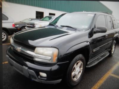 2003 Chevrolet TrailBlazer LT for sale VIN: 1GNDT13S832128952