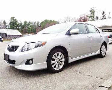 2009 Toyota Corolla S for sale VIN: 2T1BU40E29C140649