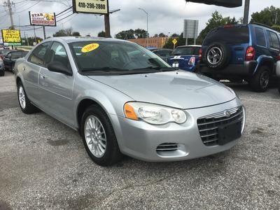 2006 Chrysler Sebring  for sale VIN: 1C3EL46X96N126818
