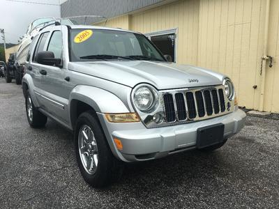 2005 Jeep Liberty Limited for sale VIN: 1J4GL58K55W535719