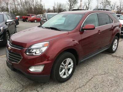 2016 Chevrolet Equinox LT for sale VIN: 2GNALCEK5G6303727