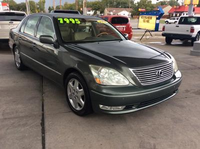 2004 Lexus LS 430  for sale VIN: JTHBN36F140153532