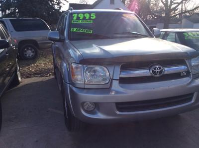 2006 Toyota Sequoia SR5 for sale VIN: 5TDBT44AX6S270143