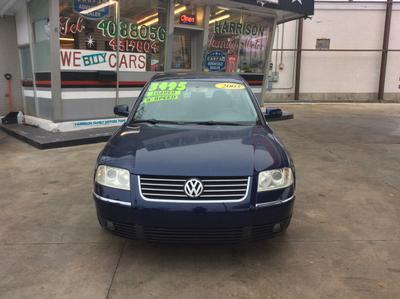 2003 Volkswagen Passat GLS for sale VIN: WVWPD63B93P449384