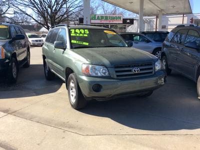 2006 Toyota Highlander  for sale VIN: JTEHD21AX60040326