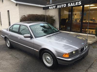 1998 BMW 740 i for sale VIN: WBAGF8326WDL55083