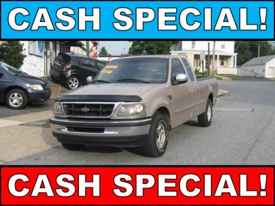 1998 Ford F-150  for sale VIN: 1FTZX1769WNB87639