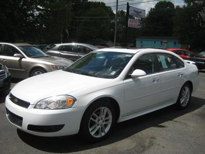 2012 Chevrolet Impala LTZ for sale VIN: 2G1WC5E38C1220151