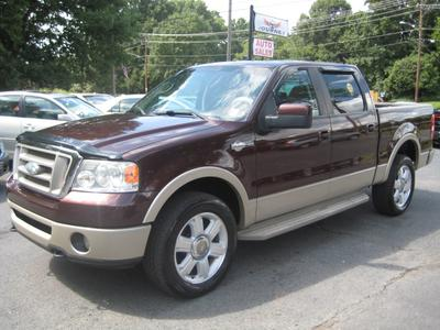 2008 Ford F-150 King Ranch SuperCrew for sale VIN: 1FTPW14V18KB95986