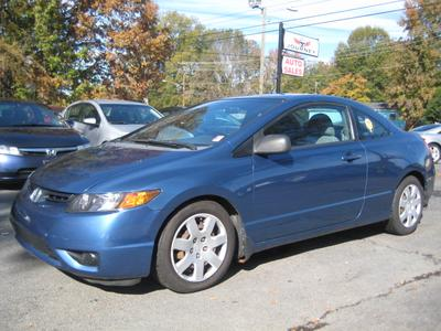 2007 Honda Civic LX for sale VIN: 2HGFG12667H565650
