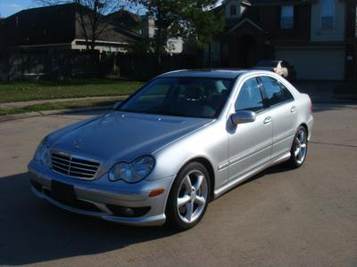 2005 Mercedes-Benz C-Class  for sale VIN: WDBRF40J15A804796