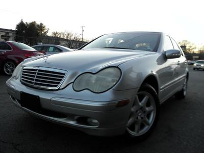 2003 Mercedes-Benz C-Class C240 for sale VIN: WDBRF61J63E013258