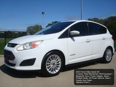 2013 Ford C-Max Hybrid SE for sale VIN: 1FADP5AU7DL556618