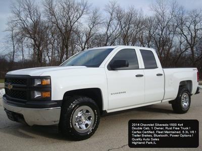 2014 Chevrolet Silverado 1500 Work Truck 1WT for sale VIN: 1GCVKPECXEZ354431