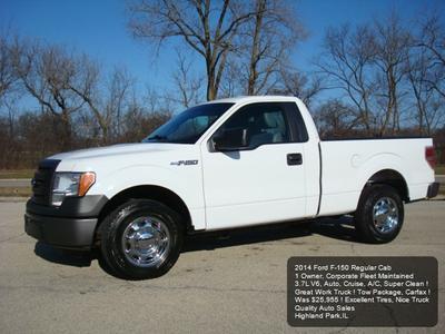 2014 Ford F-150 XL for sale VIN: 1FTMF1CM0EKD46727