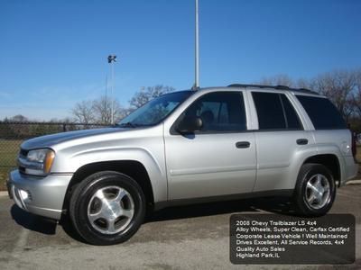 2008 Chevrolet TrailBlazer LS for sale VIN: 1GNDT13S982219073