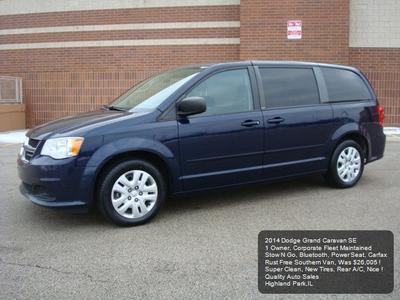 2014 Dodge Grand Caravan AVP/SE for sale VIN: 2C4RDGBG6ER311606