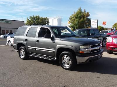 2002 Chevrolet Tahoe LS for sale VIN: 1GNEK13T32J155593