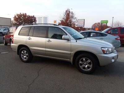 2005 Toyota Highlander Limited for sale VIN: JTEEP21A950084844