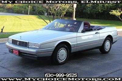 1987 Cadillac Allante  for sale VIN: 1G6VR3176HU100278