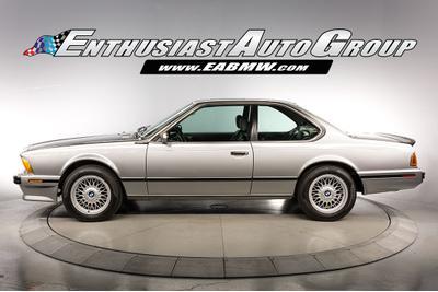 1988 BMW M6  for sale VIN: WBAEE1409J2561694