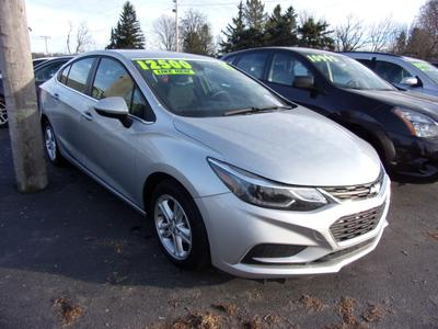 2017 Chevrolet Cruze LT for sale VIN: 1G1BE5SM8H7232557