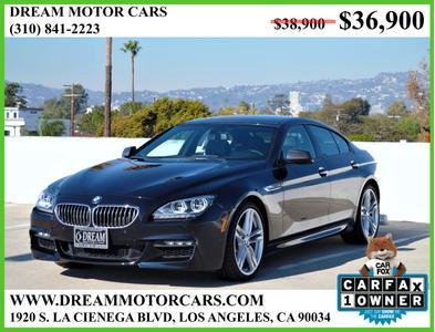 2015 BMW 640 Gran Coupe i for sale VIN: WBA6A0C54FGB53723