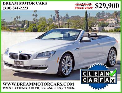 2013 BMW 640 i for sale VIN: WBALW7C58DDX58708